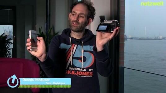 Das Smartphone und die Systemkamera: Welche Möglichkeiten bietet die GX7 im Zusammenspiel mit Panasonics Image-App und wie gut sind Display und Sucher wirklich? Eine Antwort darauf finden Sie im Video.