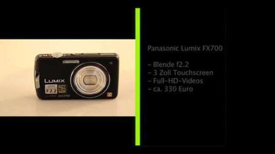 Große Blende, Touchscreen und Full-HD-Videos: Ein Teil der Merkmale der Panasonic Lumix FX700 ragt heraus, andere, wie der fünffache Zoom oder der CCD-Bildsensor entsprechen nur dem derzeit üblichen Standard.