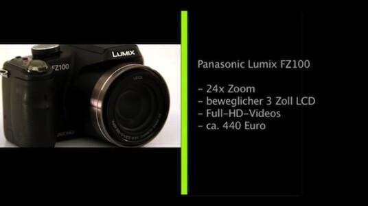 Großer Zoom, viele Einstellungsmöglichkeiten und Videos in Full-HD: Die Bridgekamera Lumix FZ100 von Panasonic lässt eigentlich keine Wünsche offen.