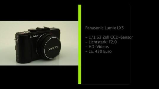 Mit der Lumix LX5 hat Panasonic seine Premium-Kompaktkamera überarbeitet. Der große Bildsensor der Kamera, die zudem über ein lichtstarkes Objektiv verfügt, lässt auf eine gute Bildqualität hoffen.
