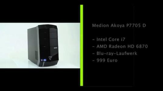 Videos schneiden, Fotos bearbeiten oder Spiele zocken: Die umfangreiche Ausstattung des Medion Akoya P7705 D eignet sich für rechenintensive Aufgaben - und das zu einem guten Preis-Leistung-Verhältnis.