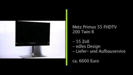 55 Zoll Bildschirmdiagonale, hervorragende Verarbeitung und elegantes Äußeres. Dieser Edel-TV sticht schon auf den ersten Blick aus der Fernsehermasse heraus.