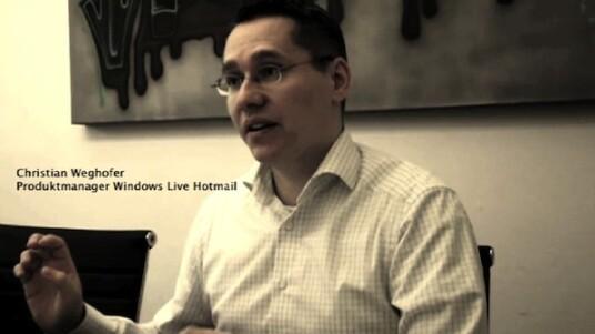 Christian Weghofer, Produktmanager Windows Live Hotmail