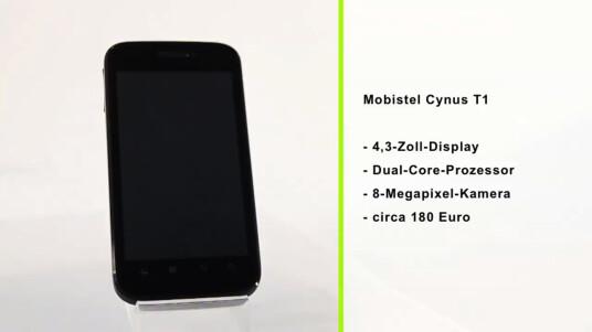 Das Mobistel Cynus T1 bietet viel Ausstattung für wenig Geld.