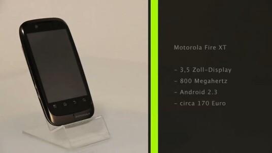 Motorola bringt mit dem Fire XT ein günstiges Einsteiger-Smartphone auf den Markt. Ausstattung und Verarbeitung können sich dabei sehen lassen.