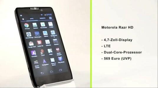 Mit dem Motorola Razr HD präsentiert der US-Hersteller ein XXL-Smartphone im schicken Kevlar-Gewand. Glänzen kann das Modell im Test nicht nur mit seinem scharfen Display, sondern auch mit einem langlebigen Akku.