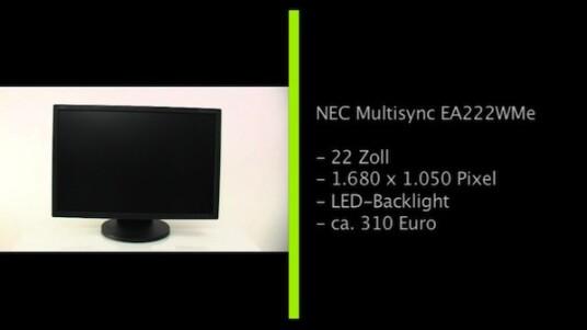 Der 22 Zoll große NEC Multisync im 16:10 Format lässt sich perfekt an jeden Arbeitsplatz anpassen. Der Nutzer kann den Bildschirm, der über stromsparende LED-Hintergrundbeleuchtung verfügt, drehen, neigen, in der Höhe verstellen und um 90 Grad kippen.