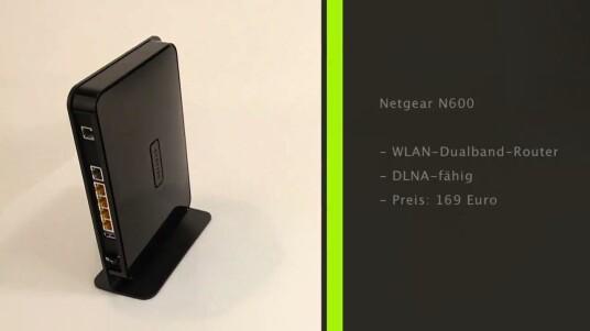 Der neue Router von Netgear kommt mit Dualband-Technik und eignet sich auch zum Betrieb von VDSL-Anschlüssen. Ab Mitte März ist das Gerät in Deutschland für 169 Euro erhältlich.