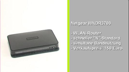 Für 110 Euro ist der Netgear Router im Handel erhältlich. Für den relativ niedrigen Preis verfügt der WNDR 3700 über zwei Frequenzbänder, einen USB Anschluss und schnelles WLAN. Einzig die unübersichtliche Menüstruktur schmälert den Gesamteindruck.