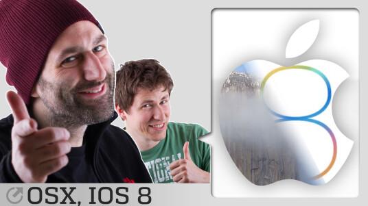 Apple hat auf dem WWDC das neue iOS 8 und Mac OS X 10.10 Yosemite vorgestellt. Jan und Dennis schauen sich die Betaversionen noch einmal live an und stürzen ab ;)