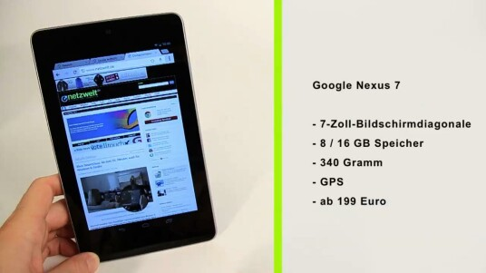 Das Google Nexus 7 entstand in Zusammenarbeit mit Asus. Im Test muss sich das sieben Zoll große Tablet den Vergleich zu übergroßen Smartphones und natürlich mit dem Platzhirsch Apple iPad gefallen lassen. Dennoch kann es ganz eigene Pluspunkte für sich verbuchen.