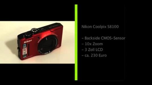 Zehnfacher Zoom, rückseitig belichteter CMOS-Sensor und Full-HD-Videos: Die Nikon Coolpix S8100 gehört zu den Kompaktkameras mit besserer Ausstattung. Ihre Bildqualität liegt zudem über dem Durchschnitt, allerdings erweist sich der automatische Weißabgleich als widerspenstig.