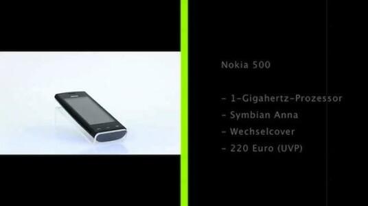 Mit dem Nokia 500 präsentiert der Hersteller eine leistungsstarke Alternative zu günstigen Einsteiger-Handys auf Android-Basis.