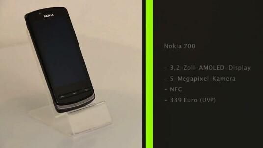 Das Nokia 700 ist ein kompaktestes Smartphone auf Basis des Nokia eigenen Betriebssystem Symbian.