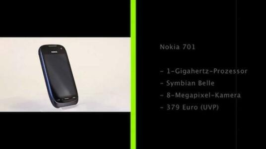 Mit dem Nokia 701 präsentiert der Hersteller eines der ersten Smartphones mit Symbian Belle. Die rund erneuerte Nutzeroberfläche erinnert dabei stark an Googles Android und hinterlässt im Test einen guten Eindruck.