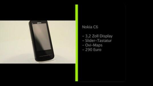 Mit dem Nokia C6 präsentiert der finnische Handy-Hersteller ein Smartphone mit großen Touchscreen und Slider-Tastatur. Dank der Unterstützung von Ovi-Maps kann der Nutzer zudem in über 70 Ländern weltweit sein Mobiltelefon kostenlos als Navigationsgerät benutzen.