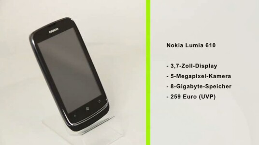 Das Nokia Lumia 610 soll sich von anderen Windows Phone-Modellen durch seinen günstigen Preis abheben - dafür müssen Nutzer aber mit einigen Einschränkungen leben.