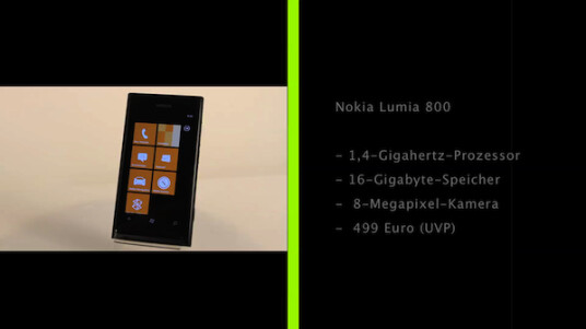Mit seinem ersten Windows Phone Nokia Lumia 800 meldet sich der einstige Marktführer nach turbulenten Monaten zurück.