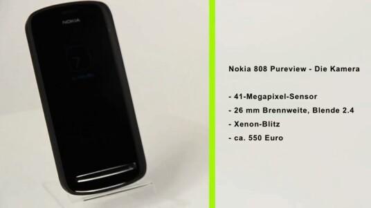 Kamera-Handy oder Fotoapparat mit angeschlossenem Telefon? Das Nokia 808 PureView verfügt mit 41 Megapixeln über eine Auflösung, von der viele Spiegelreflexkameras nur träumen können.
