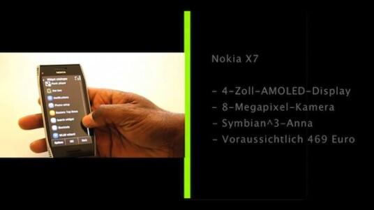 Mit dem Nokia X7 präsentiert der Hersteller ein Multimedia-Smartphone auf Basis des auslaufenden Symbian-OS. Ein Software-Update haucht dem Betriebssystem aber neues Leben ein.
