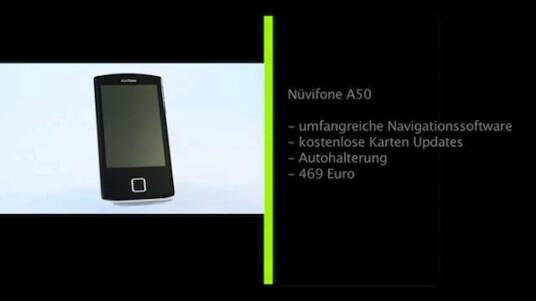 Der Navigationsgerätehersteller Garmin wagt sich auf den Smartphone Markt vor. Unterstützung bietet der ebenfalls auf diesem Gebiet noch recht neue Hardware-Hersteller Asus. Das nüvifone A50 ist dabei das erste Gerät der beiden Unternehmen für den deutschen Markt. Wie es sich von anderen Handys mit Navigationsfunktion absetzt, erfahren sie im netzwelt-test.