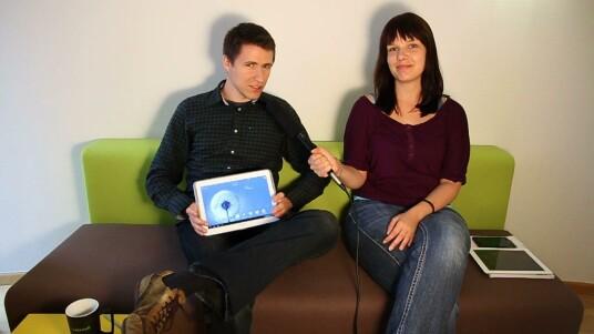 In der neuen Folge von netzwelt-TV nehmen Annika und Jan das neue Samsung Galaxy Note 10.1 unter die Lupe. Insbesondere die Schreibfunktion steht im Blickpunkt.