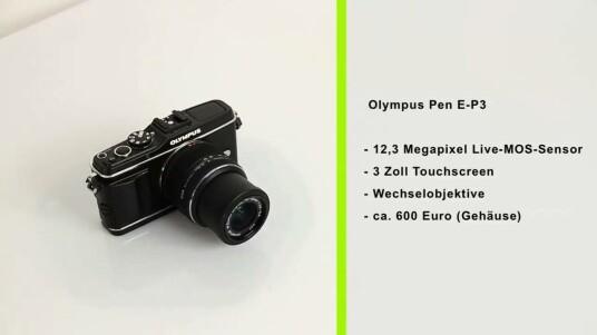 Über das Retro-Design der Olympus Pen E-P3 lässt sich streiten, aber die Technik der Systemkamera lässt sich eindeutig bewerten.