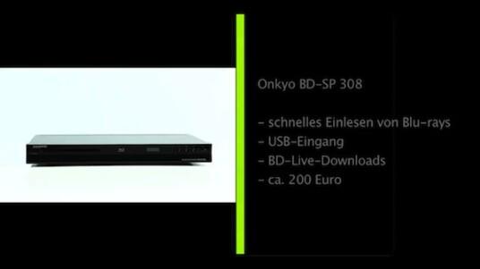 Onkyo BD-SP 308