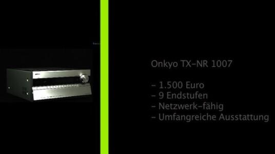 Onkyo TX-NR 1007
