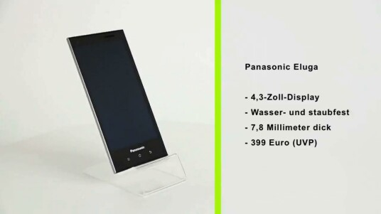 Panasonic bringt mit dem Eluga nach langer Zeit wieder ein Smartphone auf den deutschen Markt. Das Modell glänzt im Test mit seinem Design, der Sprachqualität und dem wasserfesten Gehäuse.
