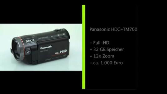 Full-HD-Auflösung, gute Bildqualität, großer interner Speicher und zwölffacher Zoom: Der Camcorder HDC-TM700 von Panasonic gehört nicht zu den günstigsten Geräten, hat im Gegenzug aber auch einiges zu bieten.