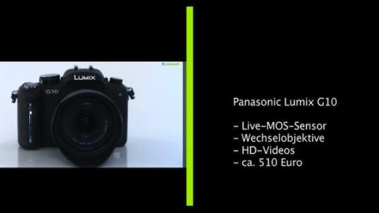 Günstiges Einstiegsmodell: Bei der Lumix G10 handelt es sich um die günstigste Systemkamera von Panasonic, die sich aber nicht vor ihren Schwestermodellen verstecken muss. Die Ausstattung ist zwar etwas abgespeckt, aber negative Einflüsse auf Bedienung und Bildqualität lassen sich nicht feststellen.