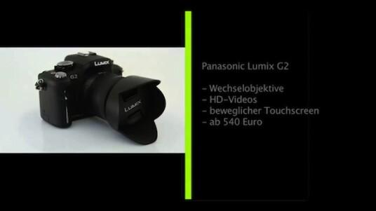 Als erster Hersteller stattet Panasonic eine Systemkamera mit einem Touchscreen aus. Doch schon ohne diesen bietet die Lumix G2 eine gute Bildqualität und eine umfangreiche aber nutzerfreundliche Bedienung.