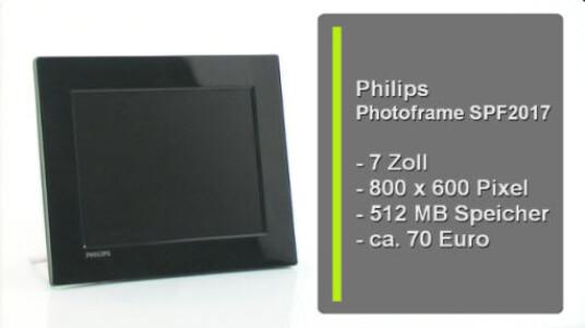 Philips Photoframe SPF2017