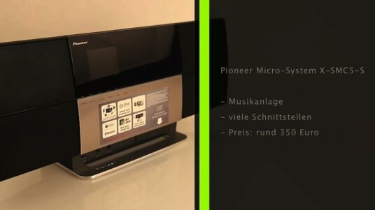Pioneer-Musiksystem X-SMC5-S