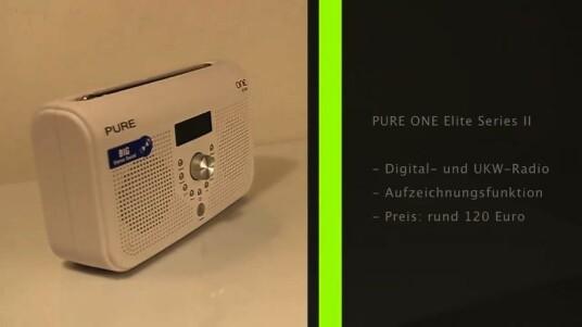 Das ONE Elite Series II ist ein Digitalradio im klassischen Stil, als besondere Funktion bietet das Gerät aber einen Rekorder für Lieblingssendungen.