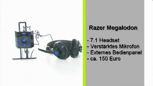 Die estra für Spieler entwickelten Kopfhörer von Razor Megadolon bieten dank des