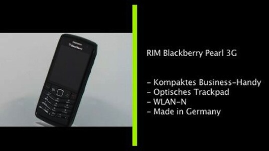 RIM Blackberry Pearl 3G