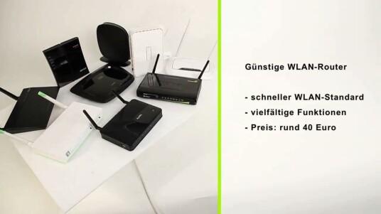 Günstige WLAN-Router im Vergleich