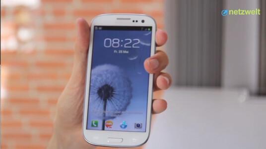 Das Samsung Galaxy S3 ist per Expresssendung in der Redaktion eingetroffen. Netzwelt hat sich einen ersten Eindruck vom Gerät gemacht.