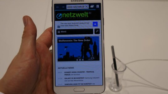 Samsung Galaxy Note 3 Neo im Hands-on
