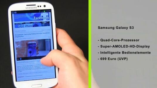 Samsungs neues Android-Flaggschiff das Galaxy S3 punktet im netzwelt-Test mit ausgezeichneter Sprachqualität und gnadenloser Performance. Zudem bietet das Modell intelligente Bedienfunktionen.