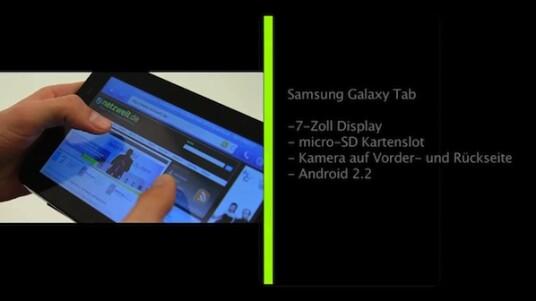 Es war der Star der IFA 2010 in berlin. Im netzwelt-Test zeigt Samsungs Galaxy Tab jedoch kleinere Schwächen. Diese und der hohe Einführungspreis erschweren die Attacke des Android-Tablets auf Apples iPad.