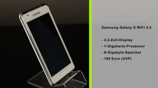 Samsung Galaxy S WiFi 4.2