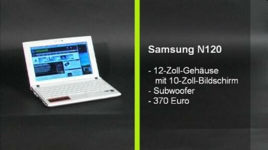 Das Samsung N120 stellt mit einem aktuellen Verkaufspreis von 370 Euro eine annehmbare Alternative zu herkömmlichen Netbooks dar, kann sich jedoch gegen Platzhirsche wie dem Asus EeePC 1000HE nicht behaupten.