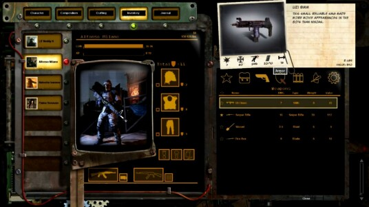 Wasteland 2 - Inventory Demo Trailer