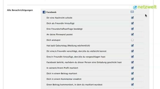 Die ständig neuen Benachrichtigungen über Aktivitäten von Freunden auf Facebook können im E-Mail-Eingang schnell nerven. Das Video zeigt, wie Sie die Mitteilungen des Sozialen Netzwerks ausschalten.