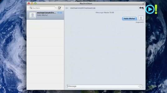 iMessage ist ebenfalls eine Funktion, die aus iOS bekannt ist. Nutzer können über dieses Programm Nachrichten an E-Mail-Adressen oder auch Handynummern schicken.