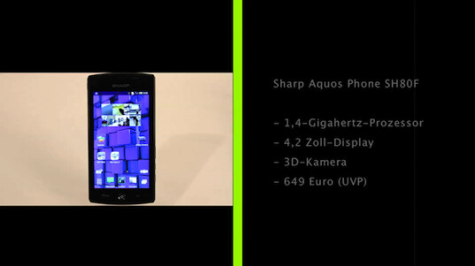 Sharp Aquos 3D