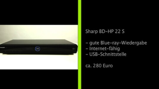 Sharp BD-HP22 S